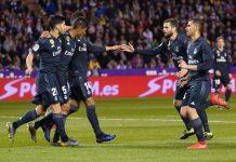 Bangkit Dari Ketertinggalan, Madrid Hajar Valladolid 4-1
