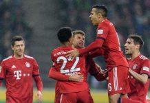Bantai Moenchengladbach, Bayern Samai Poin Dortmund