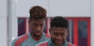 Bayern Lega Alaba Dan Coman Fit Jelang Laga vs Liverpool