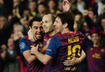 Messi Iniesta Xavi