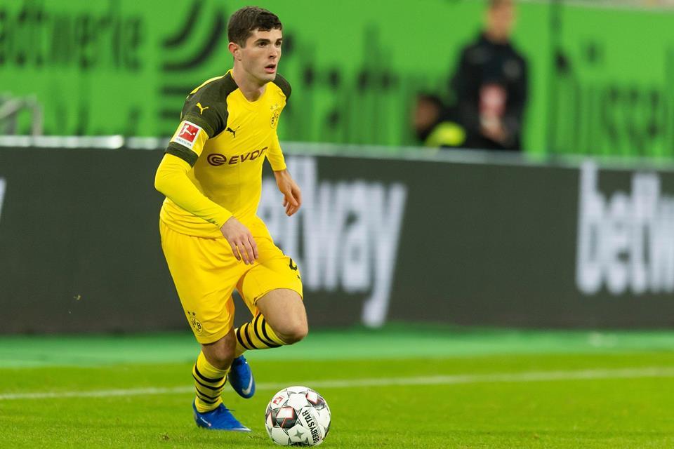 Curhatan Pulisic Soal Posisinya di Dortmund