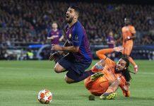 Dapat Penalti Kontroversial di Laga Kontra Lyon, Ini Kata Suarez