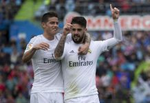 Demi Mbappe, Madrid Tumbalkan James Dan Isco