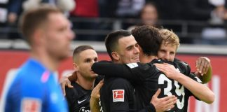 Frankfurt Kian Dekat ke Zona Liga Champions