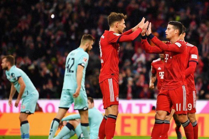 Gilas Mainz 6-0, Bayern Geser Dortmund di Puncak