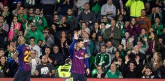 Gol Ketiga Messi Berbuah Standing Ovation dari Fans Betis