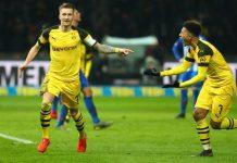 Gol Marco Reus Menangkan Dortmund Di Menit Terakhir