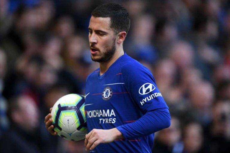 Dirumorkan ke Madrid, Hazard Fokus Angkat Prestasi Chelsea