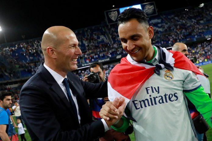 Ini Alasan Zidane Lebih Memilih Navas!