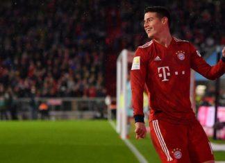 Berkat Hal Ini, James Optimis Menatap Masa Depannya di Bayern
