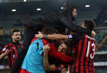 Kalahkan Chievo, Milan Nyaman di Posisi Empat Besar