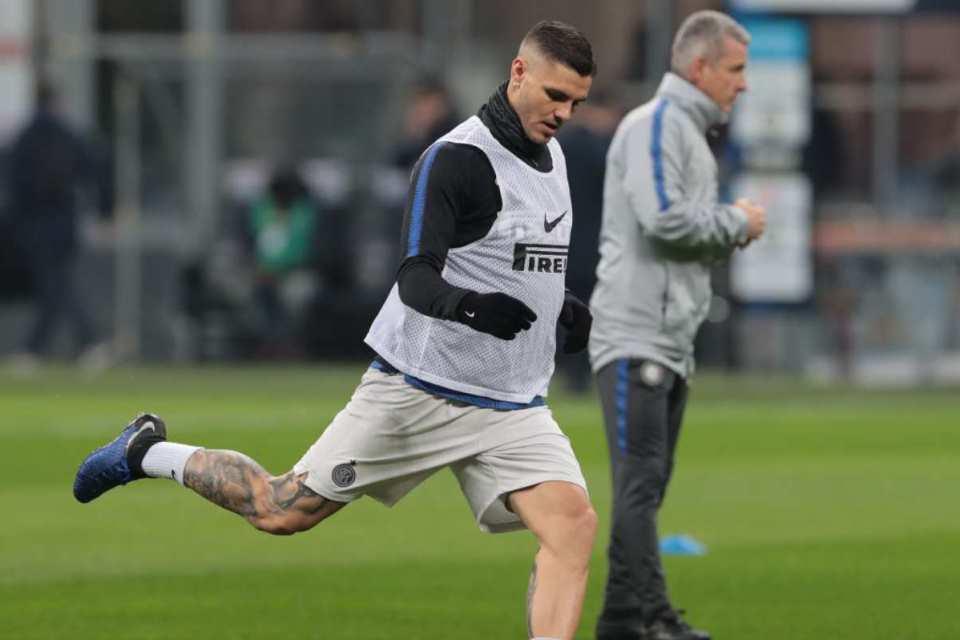 Karena Alasan Ini, Spalletti Enggan Masukkan Icardi Dalam Skuat Inter
