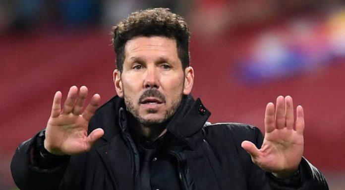 Karena Selebrasi Cojones, UEFA Sanksi Simeone 20 Ribu Euro