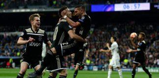 Madrid Dipermalukan Ajax 1-4 Di Bernabeu