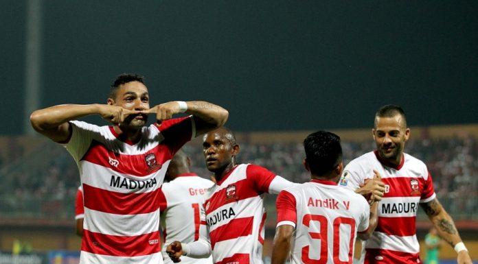 Madura United Bertekad Menang Di Laga Pamungkas Kontra Borneo