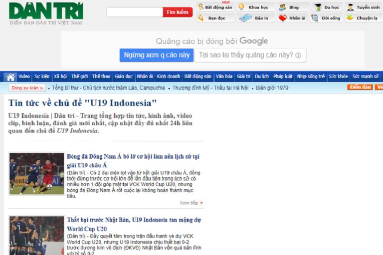 Media Vietnam Anggap Enteng Timnas Indonesia