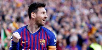 Messi Belum Pernah Absen Cetak 40 Gol Di 10 Musim Beruntun