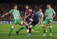 Messi Tiga Gol, Barca Sikat Betis 4-1
