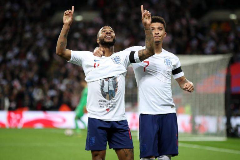 Sterling, Kesedihan dan Rekor Baru di Kualifikasi Euro 2020