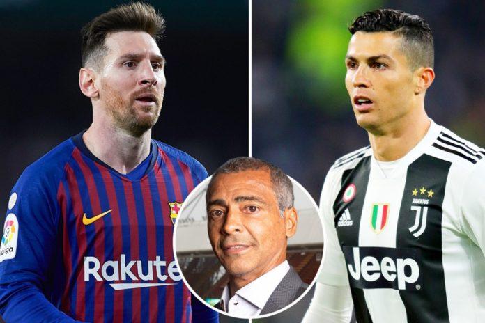 Romario Lebih Ingin Bermain dengan Messi dibandingkan Ronaldo