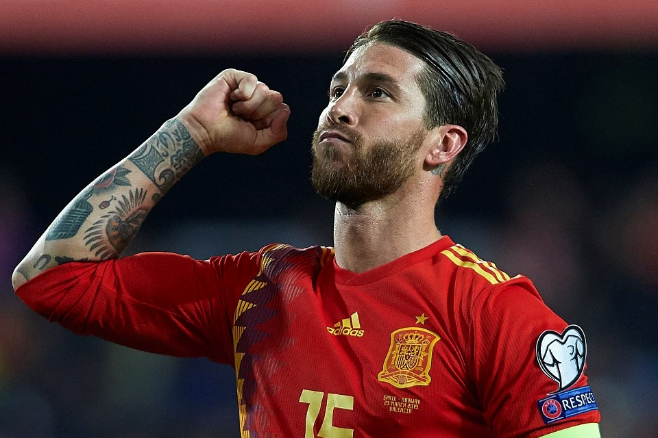 Ramos Miliki Target Ini di Timnas Spanyol