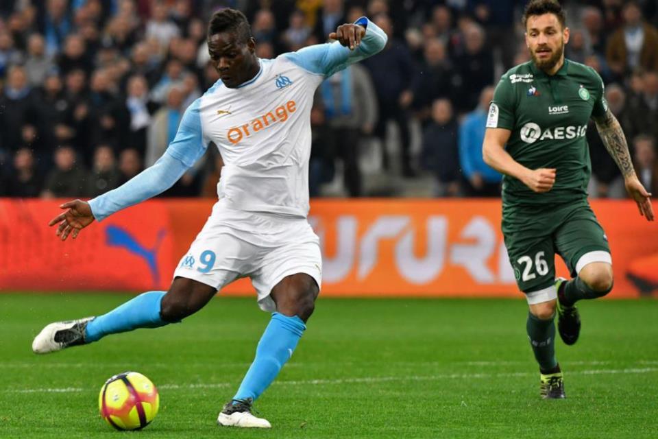 Tampil Apik Bersama Marseille, Balotelli Disebut Mirip Ibrahimovic