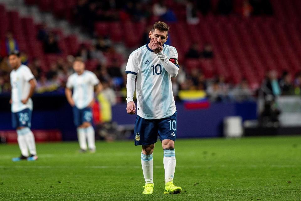 Messi Timnas Argentina