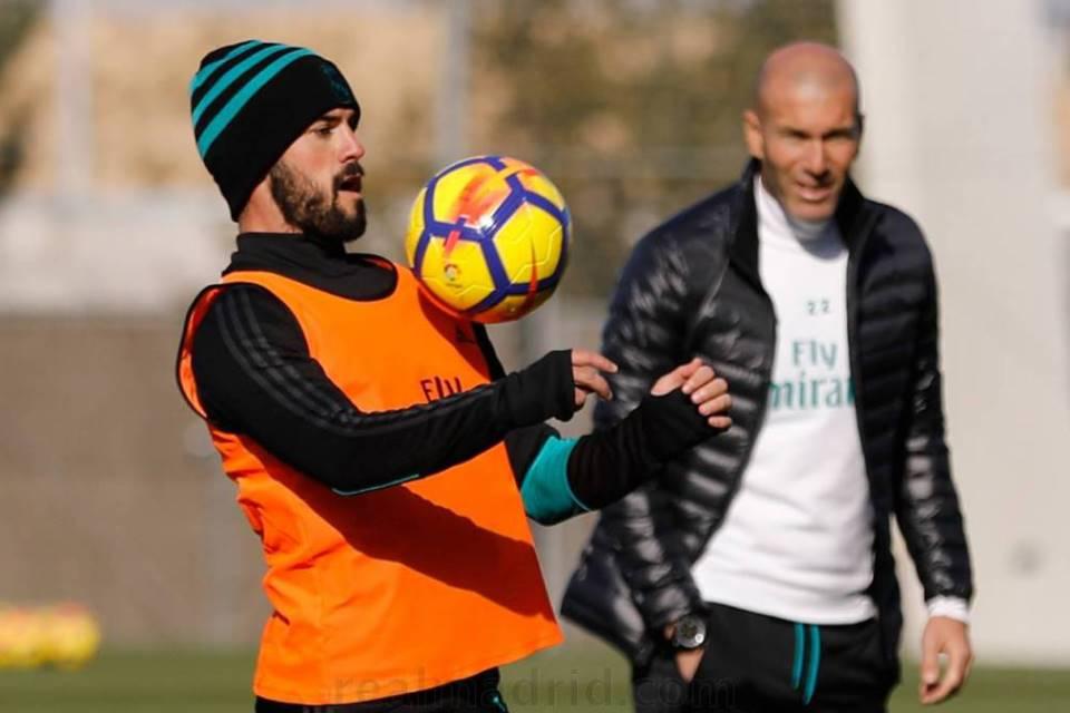 Tersisih di Era Solari, Isco Senang Zidane Kembali