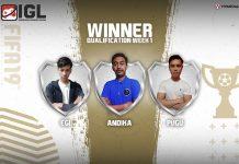 Tiga Jawara Yang Lolos Kualifikasi Minggu Pertama FIFA19 FUT