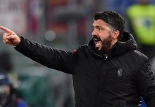 Usai Menang Atas Chievo, Gattuso Terancam Absen