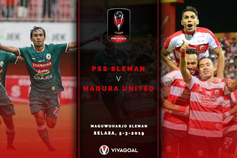 PSS Sleman Vs Madura United: Kedua Tim Berambisi Curi Poin Penuh
