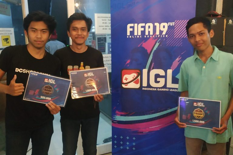 Deretan Pemenang FIFA 19 Offline Competition Tangerang