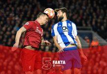 5 Fakta Mengejutkan Usai Laga Liverpool Vs FC Porto yang Terlihat Mudah