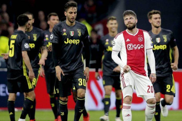 Duel Ajax vs Juve Berakhir Sama Kuat