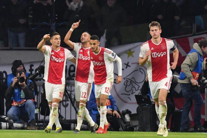 Ajax Langkahi Juventus