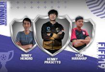 Pemenang Online Qualifier FIFA 19 FUT Minggu Keenam