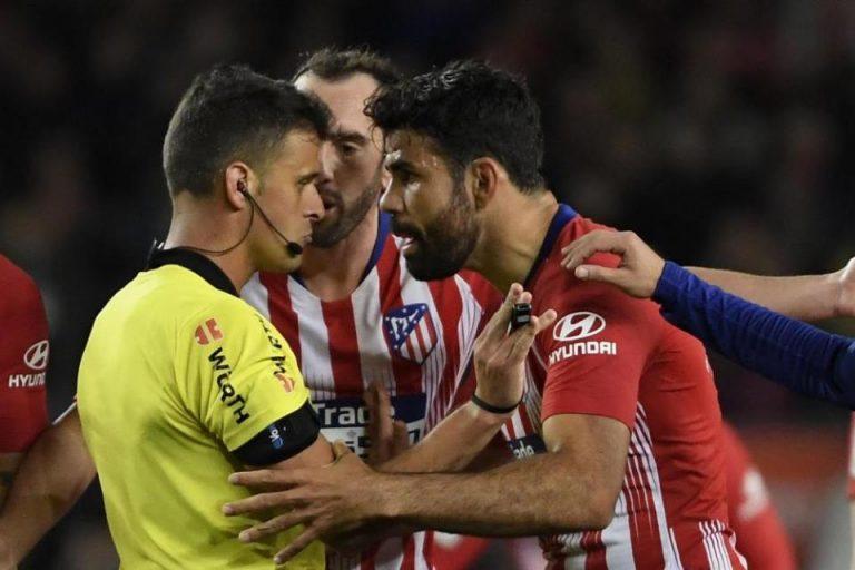 Lakukan Aksi Tak terpuji, Diego Costa Terancam Sanksi Berat