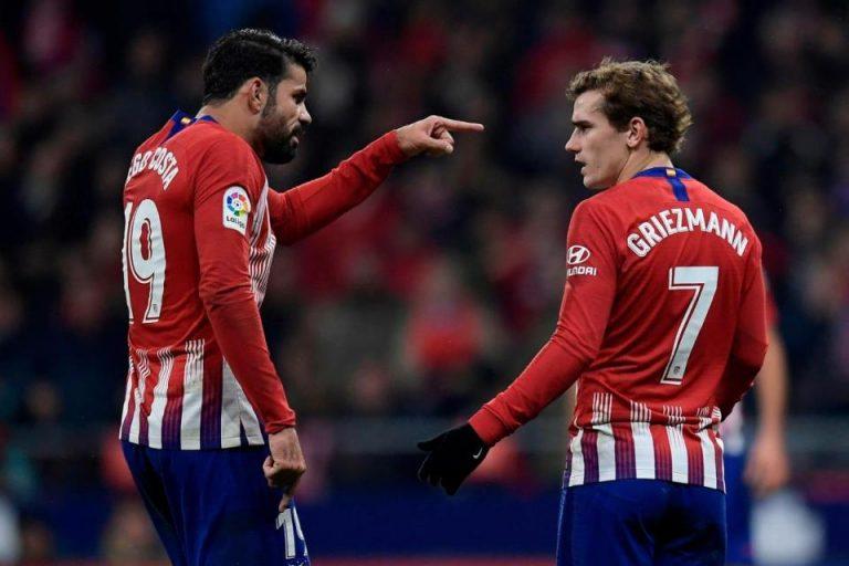 Terancam Tanpa Griezmann dan Costa, Atletico Bidik Penyerang Klub Elit Italia