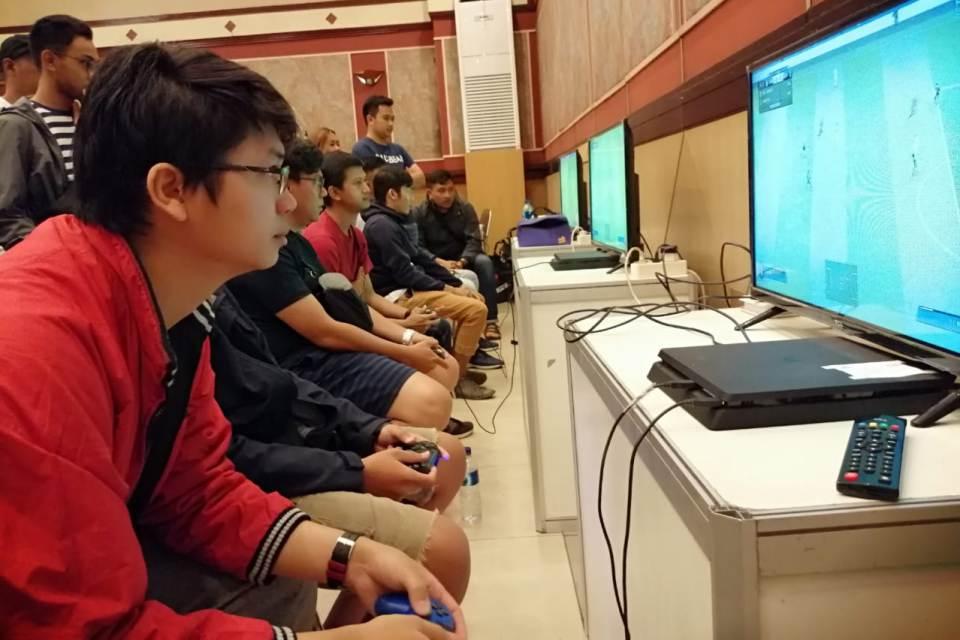 Suasana FIFA 19 Offline Competition Bandung