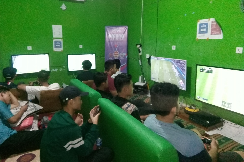Suasana FIFA 19 Offline Competition