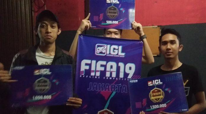 Pemenang FIFA 19 Offline Competition Jakarta