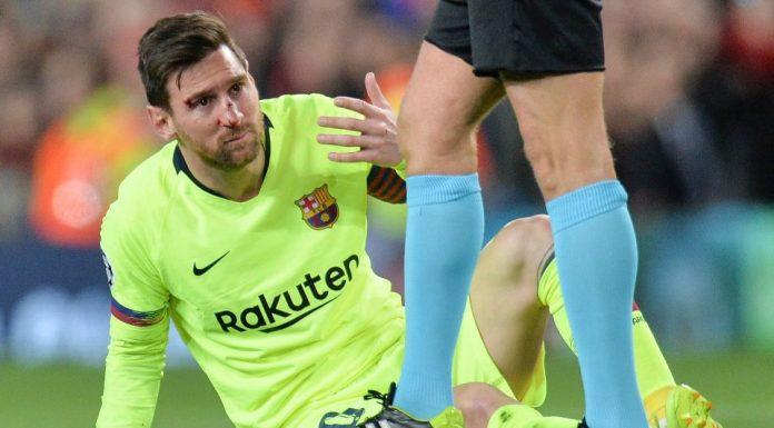Barcelona Pastikan Messi Tidak Alami Cedera Parah