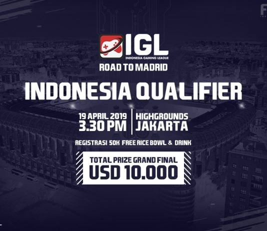 Indonesia Gaming League Gelar Indonesia Qualifier Road to Madrid
