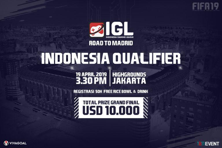 Indonesia Gaming League Gelar Indonesia Qualifier Road to Madrid