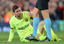 Messi Sampai Berdarah-darah Untuk Menangkan Barcelona