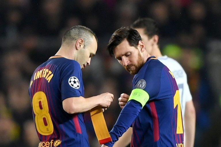 Iniesta Tidak Menutup Kemungkinan Latih Barcelona di Masa Depan