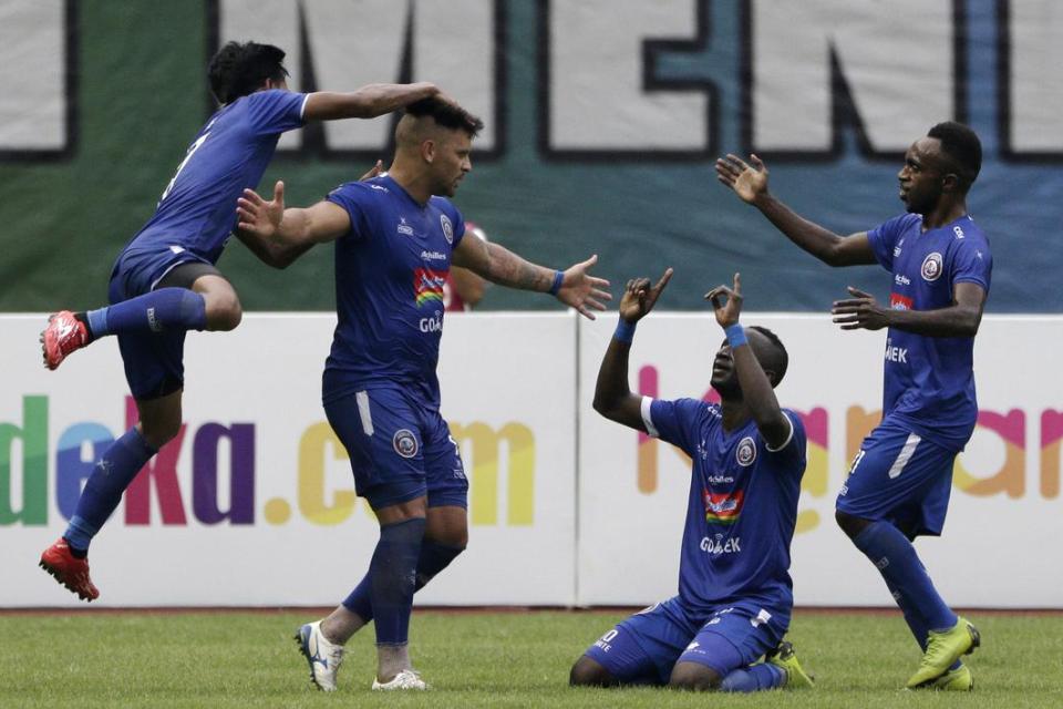 Preview Leg 1 Semifinal Piala Presiden 2019 Arema vs Kalteng Putra