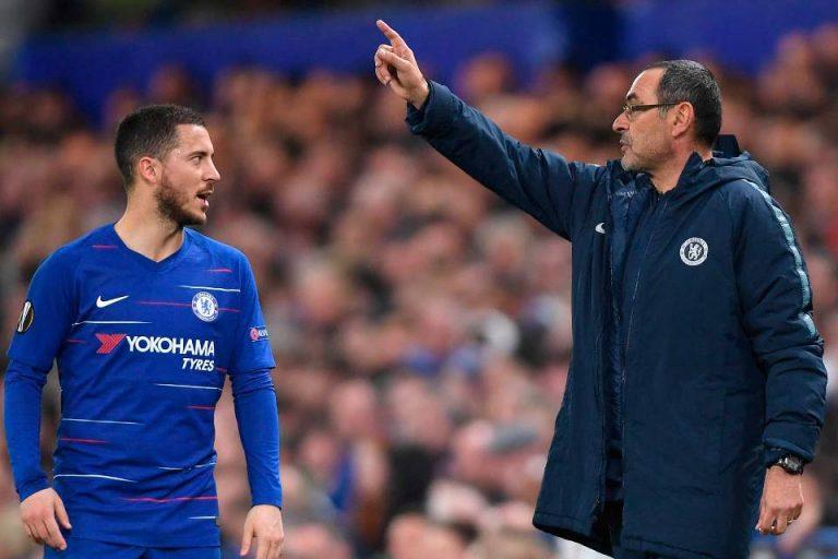 Taktik Sarri  Bawa Chelsea ke UCL Musim Depan