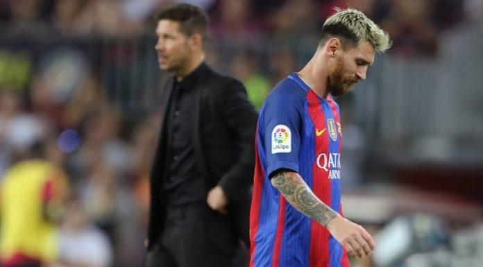 Sesama Argentina, Simeone Ikut Bela Messi Dari Kritikan