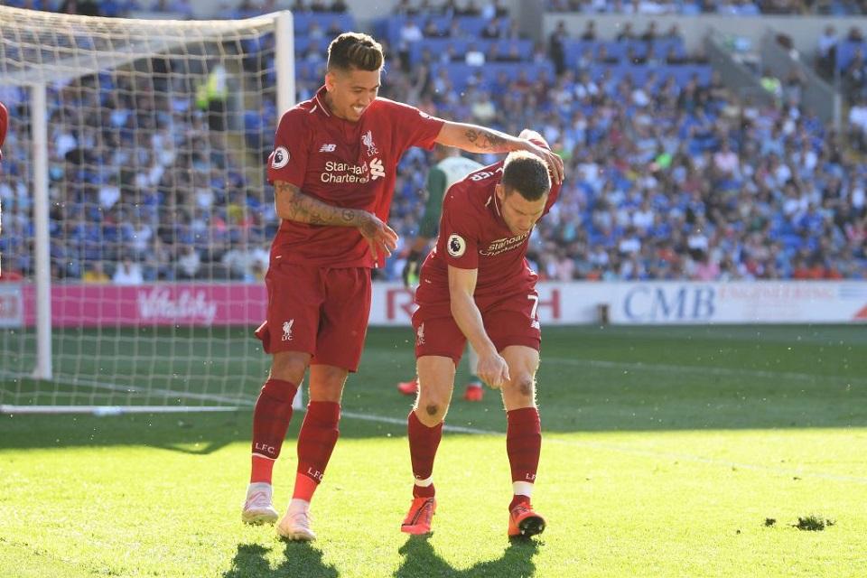 Terungkap, Inilah Alasan Selebrasi Milner Usai Cetak Gol Lawan Cardiff City!